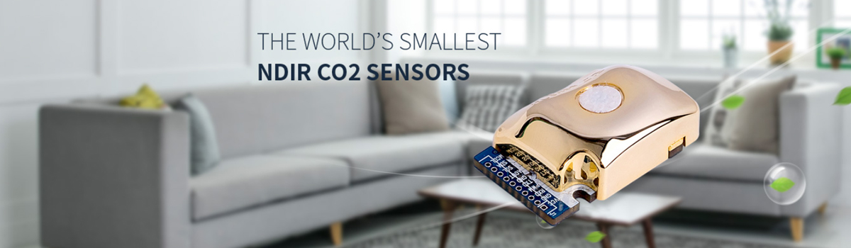 THE WORLE'S SMALLEST NDIR CO2 SENSORS
